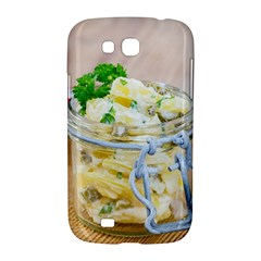 Potato salad in a jar on wooden Samsung Galaxy Grand GT-I9128 Hardshell Case