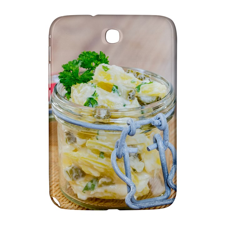 Potato salad in a jar on wooden Samsung Galaxy Note 8.0 N5100 Hardshell Case