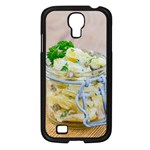 Potato salad in a jar on wooden Samsung Galaxy S4 I9500/ I9505 Case (Black) Front