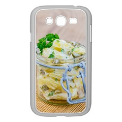 Potato salad in a jar on wooden Samsung Galaxy Grand DUOS I9082 Case (White)