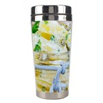 Potato salad in a jar on wooden Stainless Steel Travel Tumblers Center