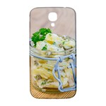 Potato salad in a jar on wooden Samsung Galaxy S4 I9500/I9505  Hardshell Back Case Front