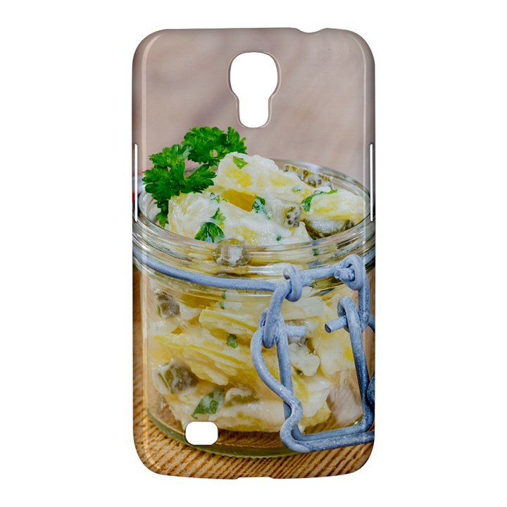 Potato salad in a jar on wooden Samsung Galaxy Mega 6.3  I9200 Hardshell Case