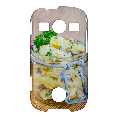 Potato salad in a jar on wooden Samsung Galaxy S7710 Xcover 2 Hardshell Case