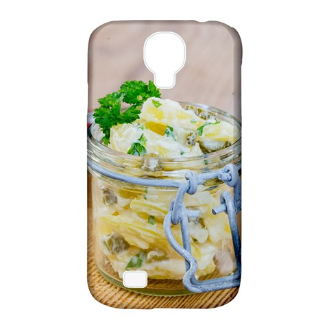 Potato salad in a jar on wooden Samsung Galaxy S4 Classic Hardshell Case (PC+Silicone)