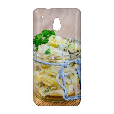 Potato salad in a jar on wooden HTC One Mini (601e) M4 Hardshell Case