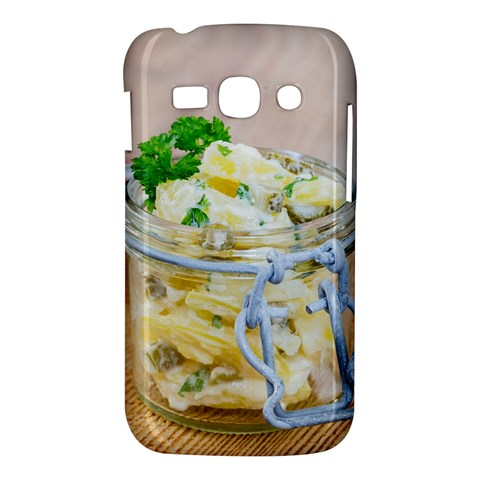 Potato salad in a jar on wooden Samsung Galaxy Ace 3 S7272 Hardshell Case