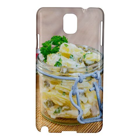 Potato salad in a jar on wooden Samsung Galaxy Note 3 N9005 Hardshell Case