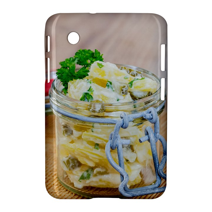 Potato salad in a jar on wooden Samsung Galaxy Tab 2 (7 ) P3100 Hardshell Case