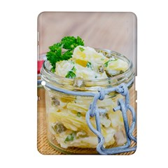 Potato Salad In A Jar On Wooden Samsung Galaxy Tab 2 (10 1 ) P5100 Hardshell Case