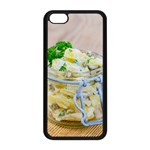 Potato salad in a jar on wooden Apple iPhone 5C Seamless Case (Black) Front