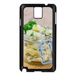 Potato salad in a jar on wooden Samsung Galaxy Note 3 N9005 Case (Black) Front