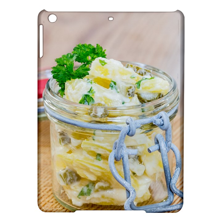 Potato salad in a jar on wooden iPad Air Hardshell Cases