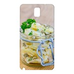 Potato salad in a jar on wooden Samsung Galaxy Note 3 N9005 Hardshell Back Case Front