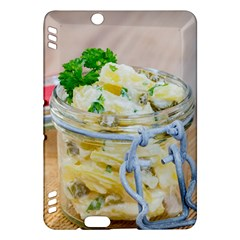 Potato Salad In A Jar On Wooden Kindle Fire Hdx Hardshell Case