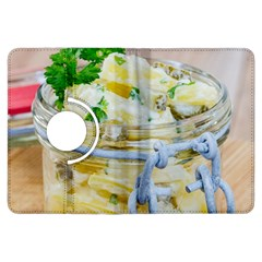 Potato salad in a jar on wooden Kindle Fire HDX Flip 360 Case