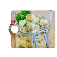Potato Salad In A Jar On Wooden Kindle Fire Hdx 8 9  Flip 360 Case