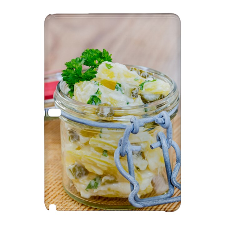 Potato salad in a jar on wooden Samsung Galaxy Tab Pro 10.1 Hardshell Case