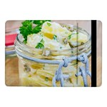 Potato salad in a jar on wooden Samsung Galaxy Tab Pro 10.1  Flip Case Front