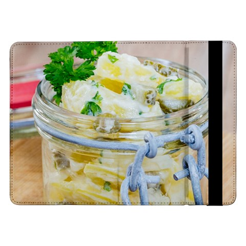 Potato salad in a jar on wooden Samsung Galaxy Tab Pro 12.2  Flip Case