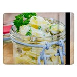 Potato salad in a jar on wooden Samsung Galaxy Tab Pro 12.2  Flip Case Front