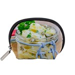 Potato salad in a jar on wooden Accessory Pouches (Small)  Front