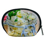 Potato salad in a jar on wooden Accessory Pouches (Medium)  Back