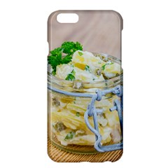 Potato salad in a jar on wooden Apple iPhone 6 Plus/6S Plus Hardshell Case