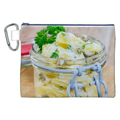 Potato salad in a jar on wooden Canvas Cosmetic Bag (XXL)