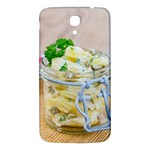 Potato salad in a jar on wooden Samsung Galaxy Mega I9200 Hardshell Back Case Front