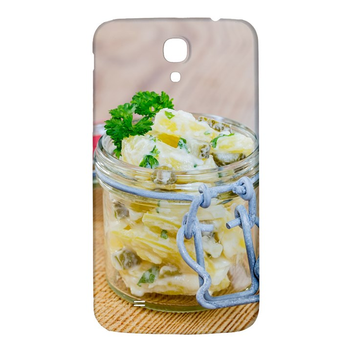 Potato salad in a jar on wooden Samsung Galaxy Mega I9200 Hardshell Back Case