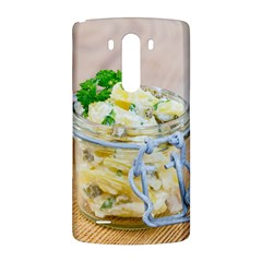 Potato salad in a jar on wooden LG G3 Back Case