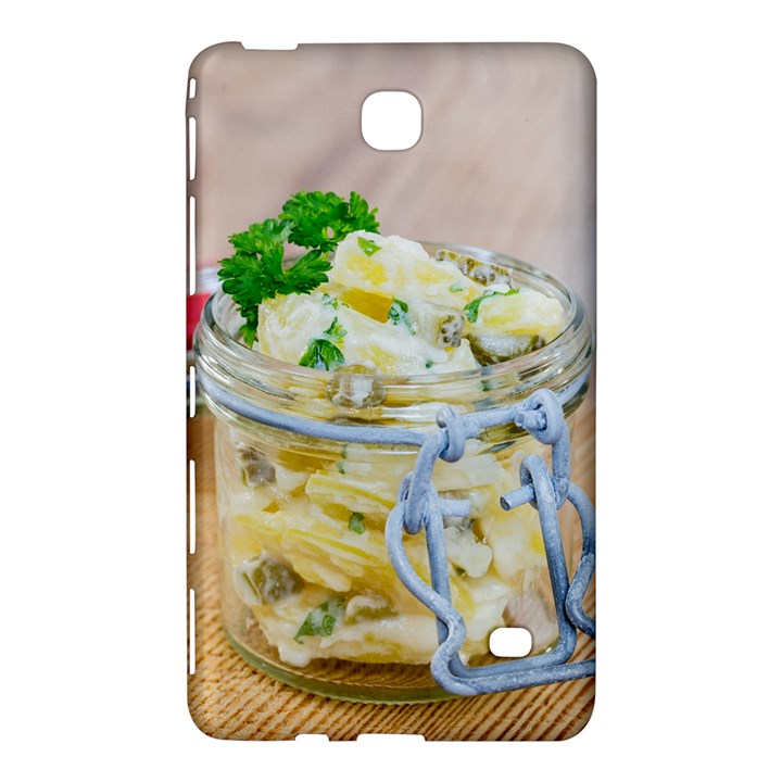 Potato salad in a jar on wooden Samsung Galaxy Tab 4 (7 ) Hardshell Case