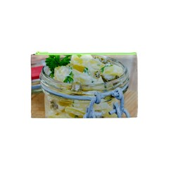 Potato Salad In A Jar On Wooden Cosmetic Bag (xs)