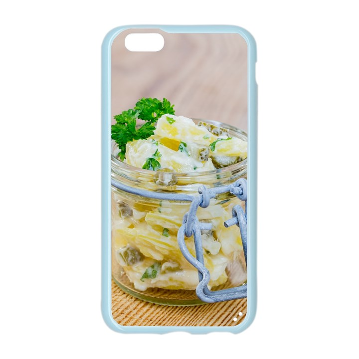 Potato salad in a jar on wooden Apple Seamless iPhone 6/6S Case (Color)