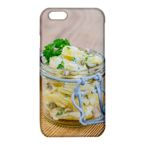 Potato salad in a jar on wooden iPhone 6/6S TPU Case