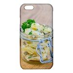 Potato salad in a jar on wooden iPhone 6/6S TPU Case Front