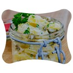 Potato salad in a jar on wooden Jigsaw Puzzle Photo Stand (Bow) Front
