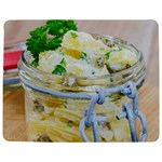 Potato salad in a jar on wooden Jigsaw Puzzle Photo Stand (Rectangular) Front