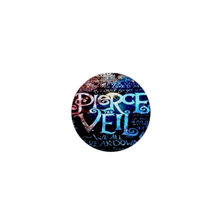 Pierce The Veil Quote Galaxy Nebula 1  Mini Magnets