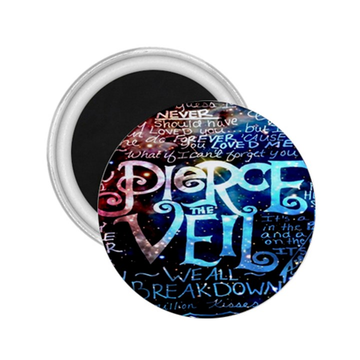 Pierce The Veil Quote Galaxy Nebula 2.25  Magnets