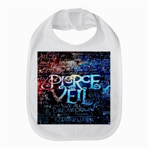 Pierce The Veil Quote Galaxy Nebula Bib