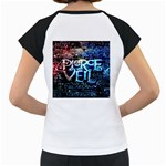 Pierce The Veil Quote Galaxy Nebula Women s Cap Sleeve T Back