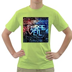 Pierce The Veil Quote Galaxy Nebula Green T-Shirt