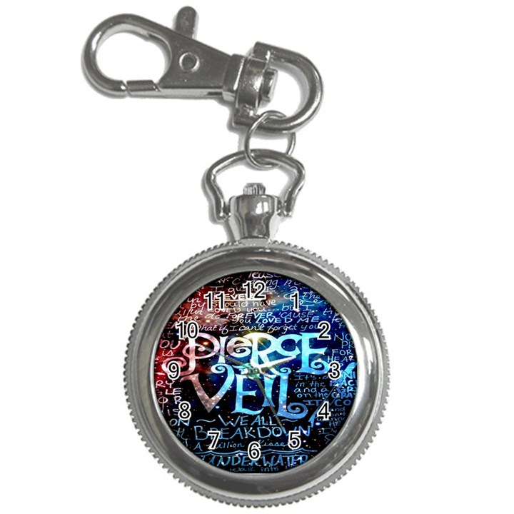 Pierce The Veil Quote Galaxy Nebula Key Chain Watches