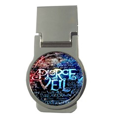 Pierce The Veil Quote Galaxy Nebula Money Clips (round)