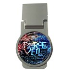 Pierce The Veil Quote Galaxy Nebula Money Clips (Round)  Front