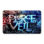 Pierce The Veil Quote Galaxy Nebula Magnet (Rectangular) Front