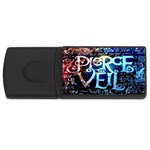 Pierce The Veil Quote Galaxy Nebula USB Flash Drive Rectangular (1 GB)  Front