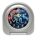 Pierce The Veil Quote Galaxy Nebula Travel Alarm Clocks Front